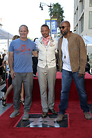 LOS ANGELES - SEP 24:  Dito Montiel, Terrence Howard, Malcolm D. Lee at the Terrence Howard Star Ceremony on the Hollywood Walk of Fame on September 24, 2019 in Los Angeles, CA