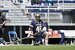 DURHAM, NC - APRIL 08: Notre Dame's John Sexton. The Duke University Blue Devils hosted the University of Notre Dame Fighting Irish on April 8, 2017, at Koskinen Stadium in Durham, NC in a Division I College Men's Lacrosse match. Duke won the game 11-8.