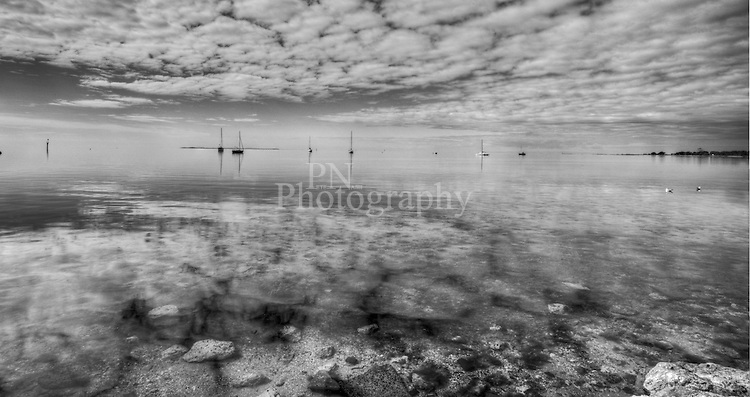 This photo taken of Bay of Shores Kangaroo Island South Australia over looking Reeves Point Kingscote on the most stillest carm mornings
