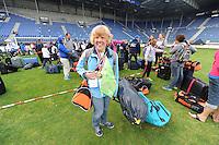 SPECIAL OLYMPICS: HEERENVEEN: Abe Lenstra Stadion, 15-06-2014, Sluiting Special Olympics Nationale Spelen Fryslân 2014, zwemster Joke Kwakkel, © Martin de Jong