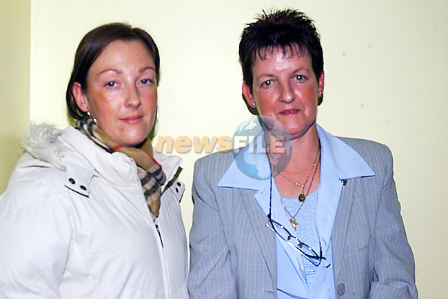 Lily Connor and Tracy Connor at The Opening of The New Hall in Slane...Pic Newsfile