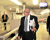 United States Representative Charlie Rangel (Democrat of New York) arrives at the U.S. Capitol on the Rayburn subway prior to making a statement on his ethics situation on the floor of the U.S. House of Representatives in Washington, D.C. on Tuesday, August 10, 2010..Credit: Ron Sachs / CNP.(RESTRICTION: NO New York or New Jersey Newspapers or newspapers within a 75 mile radius of New York City)