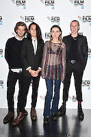 "Wolf Alice<br /> at the London Film Festival 2016 premiere of ""On the Road"" at the BFI, South Bank, London.<br /> <br /> <br /> ©Ash Knotek  D3169  09/10/2016"