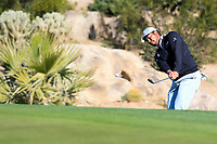 Hideki Matsuyama (JPN) on the 5th during the 2nd round of the Waste Management Phoenix Open, TPC Scottsdale, Scottsdale, Arisona, USA. 01/02/2019.<br /> Picture Fran Caffrey / Golffile.ie<br /> <br /> All photo usage must carry mandatory copyright credit (© Golffile | Fran Caffrey)