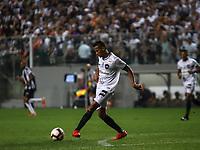 Belo Horizonte (MG), 31/07/2019 - Copa Sulamericana / Atlético MG x Botafogo -   Cícero do Botafogo durante partida contra o Atlético pelas Oitavas de Final da Copa Sul-Americana no Estádio Independência em Belo Horizonte na noite desta quarta-feira, 31. (Foto: Rafael Costa/Brazil Photo Press)