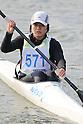 Mikuko Kumai, .MARCH 28, 2012 - Canoeing : .2012 International Canoeing Competitions Selection Trial & The 22th Fuchuko Canoe Regatta, .Women's Junior Kayak Single 200m at Lake Fuchu, Kagawa Japan. (Photo by Akihiro Sugimoto/AFLO SPORT) [1080]
