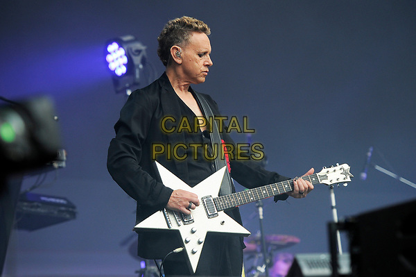 LONDON, ENGLAND - JUNE 3: Martin Ware of 'Depeche Mode' performing at London Stadium on June 3, 2017 in London, England.<br /> CAP/MAR<br /> &copy;MAR/Capital Pictures