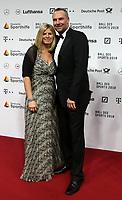 03.02.2018, RMCC, Wiesbaden, Ball des Sports 2018 , <br />Christian Schwarzer and wife Tanja *** Local Caption *** © pixathlon