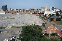 1996 July 31..Redevelopment..Macarthur Center.Downtown North (R-8)..MACARTHUR PROGRESS.LOOKING WEST FROM ROTUNDA BUILDING...NEG#.NRHA#..