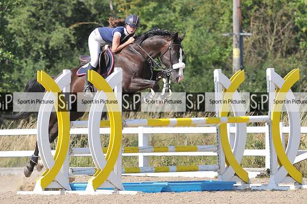 Class 8. British showjumping seniors. Brook Farm Training Centre. Essex. UK. 07/07/2018. ~ MANDATORY Credit Ellen Szalai/Sportinpictures - NO UNAUTHORISED USE - 07837 394578