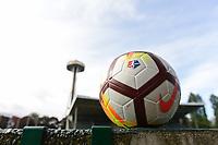 Seattle, Washington - NWSL Nike ball at UW Medicine Pitch at Memorial Stadium