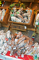 On a street market. Bordeaux city, Aquitaine, Gironde, France