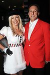 Owner Johnny Vasello and his wife Kristine at the Christmas themed costume party at Mo's A Place for Steaks Thursday Dec. 20, 2012.(Dave Rossman/For the Chronicle)