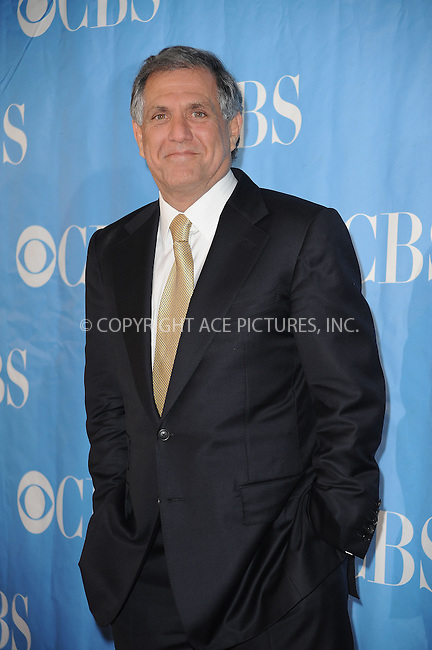 WWW.ACEPIXS.COM . . . . . ....May 20 2009, New York City....CBS president and CEO Les Moonves at the 2009 CBS Upfront at Terminal 5 in Manhattan on May 20, 2009 in New York City.....Please byline: KRISTIN CALLAHAN - ACEPIXS.COM.. . . . . . ..Ace Pictures, Inc:  ..tel: (212) 243 8787 or (646) 769 0430..e-mail: info@acepixs.com..web: http://www.acepixs.com