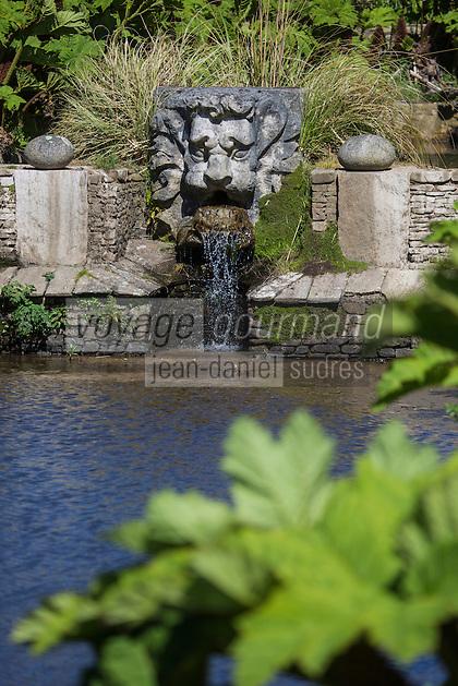 Europe/France/Normandie/Basse-Normandie/50/Manche/  Vauville: Jardin Botanique de Vauville // France, Manche, Cotentin, La Hague, Vauville: Vauville Castle Botanical Gardens
