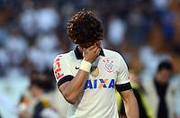 SAO PAULO SP, 14 Julho 2013 - Corinthians x Atletico MG.   Aleandre Pato  durante partida valida pela setima rodada do campeonato brasileiro de 2013  no Estadio do Pacaembu em  Sao Paulo, neste domingo , 14. (FOTO: ALAN MORICI / BRAZIL PHOTO PRESS).