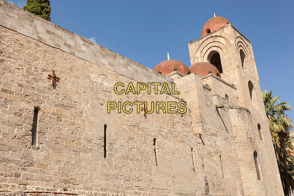 San Giovanni Degli Eremiti Church, Palermo, Sicily, Italy<br /> August 2015<br /> CAP/MEL<br /> &copy;MEL/Capital Pictures