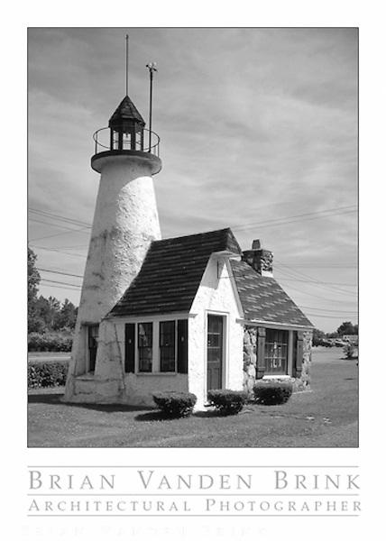 LIGHTHOUSE<br /> North Hatfield, Massachusetts &copy; Brian Vanden Brink, 1986