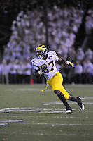 12 October 2013:  Michigan TE Devin Funchess (87) . The Penn State Nittany Lions defeated the Michigan Wolverines 43-40 in 4OTs at Beaver Stadium in State College, PA.