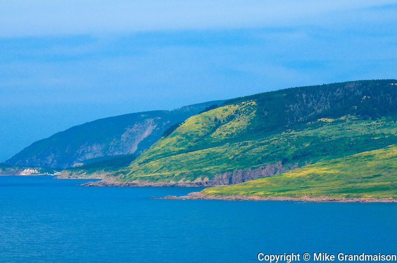 St. Lawrence Bay<br /> Cape Breton near Meat Cove<br /> Nova Scotia<br /> Canada