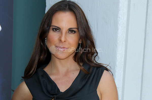 LOS ANGELES, CA - MAY 10: Actress Kate del Castillo during the PETA billboard 'Fiercely Protect Your Animals' unveiling ceremony at The Bob Barker Building on May 10, 2012 in Los Angeles, California.<br />