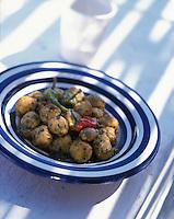"""Afrique/Maghreb/Maroc/Essaouira : Boulettes de mostelle à la tomate - Recette de Fatima-Zohra Lakrik cuisinère de la villa """"Maroc"""""""