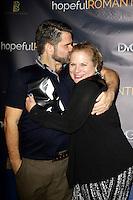 LOS ANGELES - NOV 9: Matt Zarley, Mary Kiser at the special screening of Matt Zarley's 'hopefulROMANTIC' at the American Film Institute on November 9, 2014 in Los Angeles, California