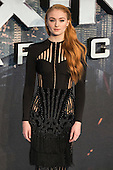 London, UK. 9 May 2016. Actress Sophie Turner (Jean Grey) attends the X-Men: Apocalypse - Global Fan Screening at the BFI Imax cinema in London.