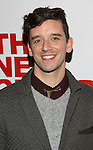 Michael Urie attends the opening night party for the New Group Production of Wallace Shawn's  'Evening at the Talk House' at Green Fig Urban Eatery on 2/16/2017 in New York City.