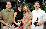 From left: Mike and Amy Reeves with Jennifer and Ken Debow at the Zoo Friends of Houston's 22nd Zoo Ball Friday April 30,2010.  (Dave Rossman Photo)