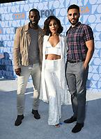 07 August 2019 - Los Angeles, California - Mo McRae, Megalyn Echikunwoke, Mustafa Elzein. FOX Summer TCA 2019 All-Star Party held at Fox Studios. <br /> CAP/ADM/BT<br /> ©BT/ADM/Capital Pictures