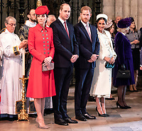 Royal Family at Commonwealth Day Service