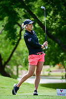 Mel Reid (ENG) watches her tee shot on 13 during round 1 of  the Volunteers of America Texas Shootout Presented by JTBC, at the Las Colinas Country Club in Irving, Texas, USA. 4/27/2017.<br /> Picture: Golffile | Ken Murray<br /> <br /> <br /> All photo usage must carry mandatory copyright credit (&copy; Golffile | Ken Murray)