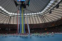 08.06.2012, WARSZAWA, PILKA NOZNA, FOOTBALL, MISTRZOSTWA EUROPY W PILCE NOZNEJ, EURO 2012, FOOTBALL EUROPEAN CHAMPIONSHIP, POLSKA VS GRECJA POLAND VS GREECE OPENING CEREMONY , FOT. ADAM JASTRZEBOWSKI / FOTO OLIMPIK