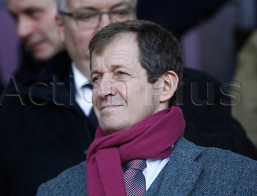 26.11.2016. Turf Moor, Burnley, England. Premier League Football. Burnley versus Manchester City. Former Downing Street communications and strategy director Alistair Campbell in the director's box before the game.