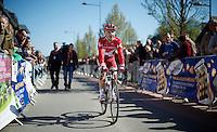 Joaquim Rodriguez (ESP/Katusha) on his way to the start<br /> <br /> Flèche Wallonne 2016