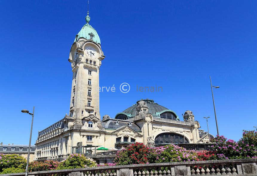 France, Haute-Vienne (87), Limoges, gare des Bénédictins // France, Haute Vienne, Limoges, Limoges Benedictins railway station