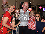 Susan Bastianelli celebrating her 50th birthday with Shane, Erika Bastianelli, Allie and Isabella Garcia in The Thatch.  Photo:Colin Bell/pressphotos.ie