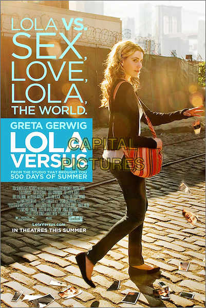 POSTER ART.in Lola Versus.*Filmstill - Editorial Use Only*.CAP/FB.Supplied by Capital Pictures.
