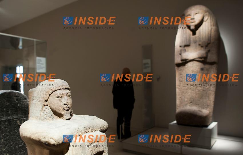 Inaugurazione del Nuovo Museo Egizio di Torino <br /> inauguration of the new Egyptian Museum of Turin<br /> Torino 31-03-2015<br /> Foto Giorgio Perottino/Insidefoto