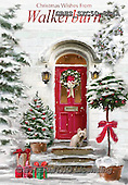 John, CHRISTMAS LANDSCAPES, WEIHNACHTEN WINTERLANDSCHAFTEN, NAVIDAD PAISAJES DE INVIERNO, paintings+++++,GBHSSXC50-804A,#XL# ,#161#