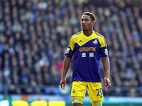 Pictured: Jonathan de Guzman of Swansea. Sunday 16 February 2014<br />