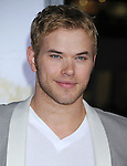 """HOLLYWOOD, CA. - February 01: Kellan Lutz arrives at the """"Dear John"""" World Premiere held at Grauman's Chinese Theatre on February 1, 2010 in Hollywood, California."""