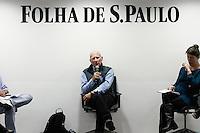 """SÃO PAULO, SP - 03.09.2013: SABATINA SEBASTIÃO SALGADO - O fotógrafo Sebastião Salgado Participa da sabatina da Folha de São Paulo onde fala sobre seu novo trabalho """"Genesis"""", na tarde desta terça-feira (03), a sabatina ocorre na sede da Folha de São Paulo região central de São Paulo. (Foto: Marcelo Brammer/Brazil Photo Press)"""