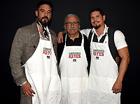 "HOLLYWOOD - MAY 29: Clayton Cardenas, Edward James Olmos and JD Pardo attend the FYC event for FX's ""Mayans M.C."" at Neuehouse Hollywood on May 29, 2019 in Hollywood, California. (Photo by Frank Micelotta/FX/PictureGroup)"