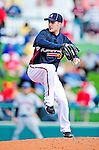 3 March 2010: Atlanta Braves' pitcher Eric O'Flaherty in action during a Grapefruit League game against the New York Mets at Champion Stadium in the ESPN Wide World of Sports Complex in Orlando, Florida. The Braves defeated the Mets 9-5 in the Spring Training matchup. Mandatory Credit: Ed Wolfstein Photo