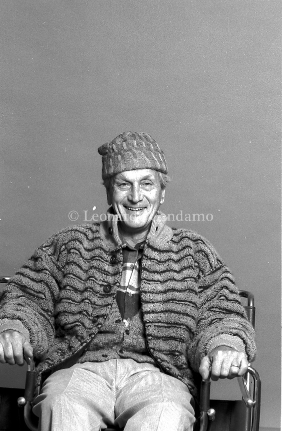 "Ottavio ""Tai"" Missoni (11 February 1921 – 9 May 2013) was the founder of the Italian fashion label Missoni and an Italian Olympic hurdler who competed in the 1948 Summer Olympics. © Leonardo Cendamo"