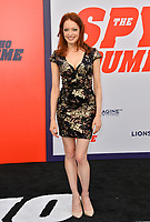 Elizabeth J. Carlisle at the world premiere for &quot;The Spy Who Dumped Me&quot; at the Fox Village Theatre, Los Angeles, USA 25 July 2018<br /> Picture: Paul Smith/Featureflash/SilverHub 0208 004 5359 sales@silverhubmedia.com