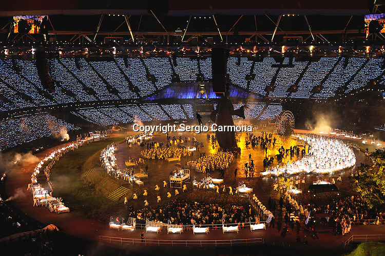 Olympic Games 2012; Opening Ceremony - Olympic Stadium.