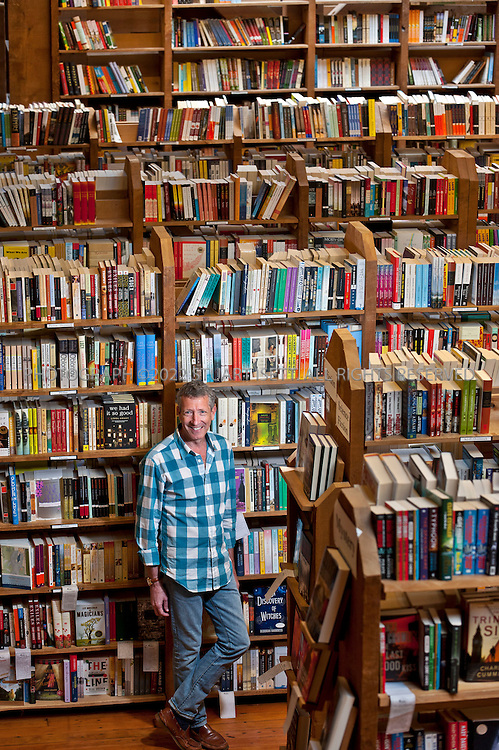 6/15/2011--Seattle, WA, USA..Peter Aaron, owner of the The Elliott Bay Book Company in Seattle, WASH...The Elliott Bay Book Company (1521 Tenth Ave, 206-624-6600, www.elliottbaybook.com) abandoned Pioneer Square to relocate to the Pike-Pine Corridor in Seattle's Capitol Hill neighborhood...©2011 Stuart Isett. All rights reserved.